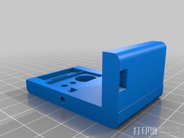 6自由度18号微动伺服 3D模型  图8