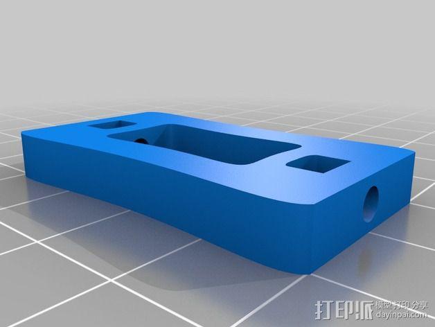 6自由度18号微动伺服 3D模型  图9