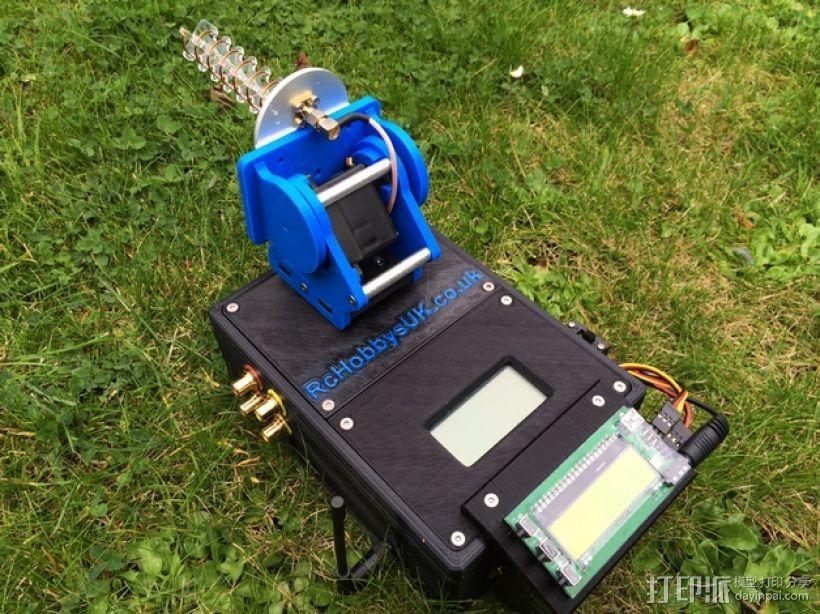 DIY Rc EZantenna 跟踪器 3D模型  图1