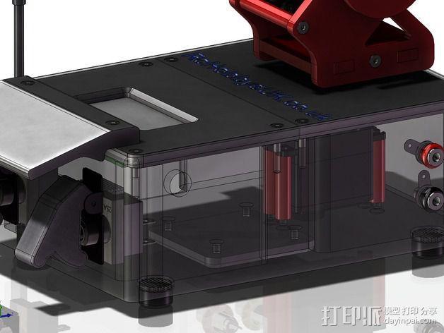 DIY Rc EZantenna 跟踪器 3D模型  图4