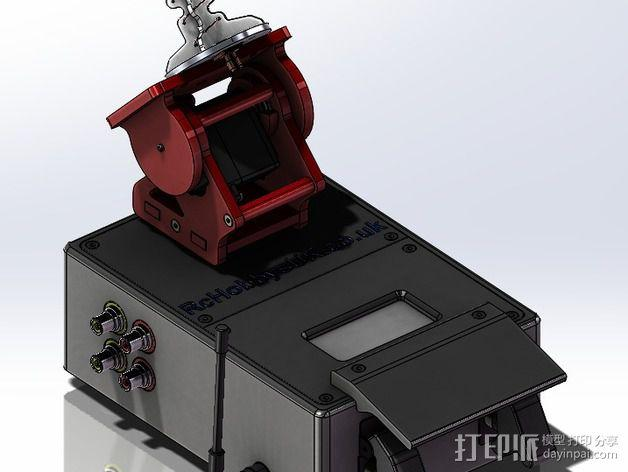DIY Rc EZantenna 跟踪器 3D模型  图2