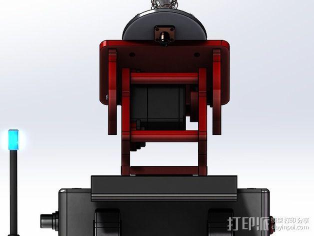 DIY Rc EZantenna 跟踪器 3D模型  图6