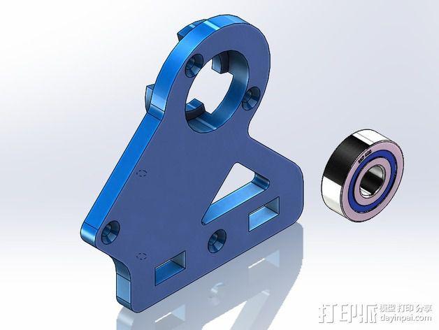 DIY Rc EZantenna 跟踪器 3D模型  图14