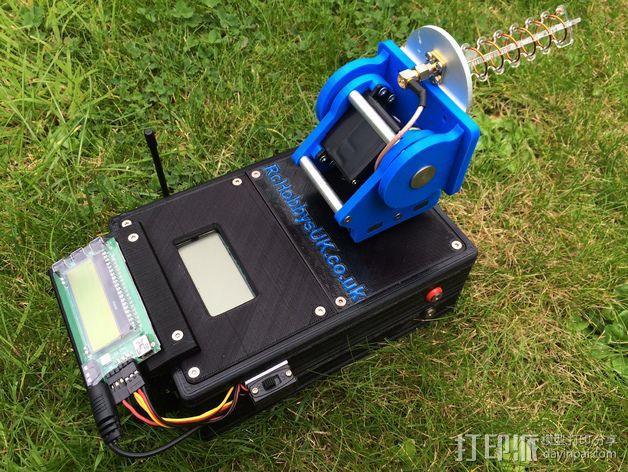 DIY Rc EZantenna 跟踪器 3D模型  图13