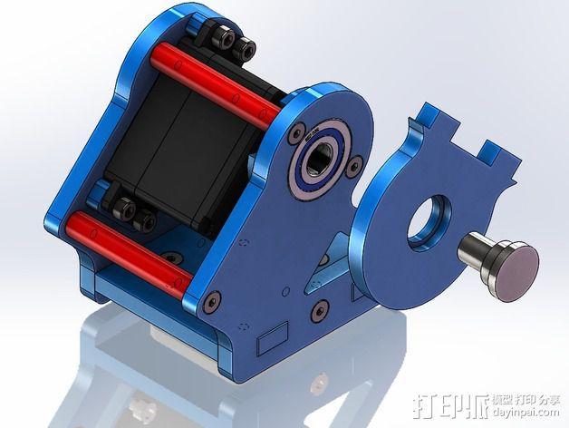 DIY Rc EZantenna 跟踪器 3D模型  图17