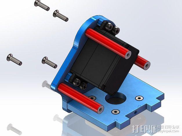 DIY Rc EZantenna 跟踪器 3D模型  图18
