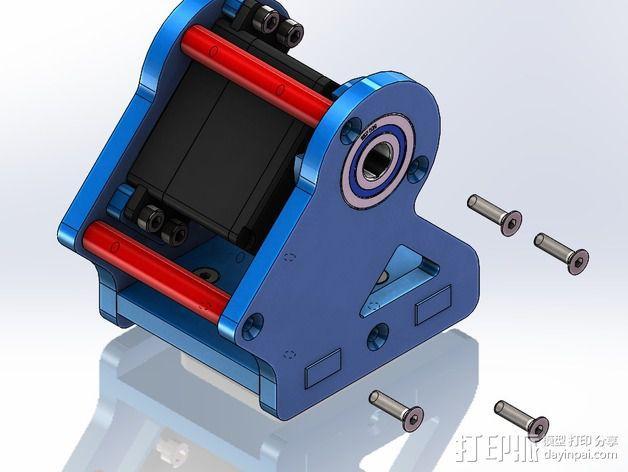 DIY Rc EZantenna 跟踪器 3D模型  图19