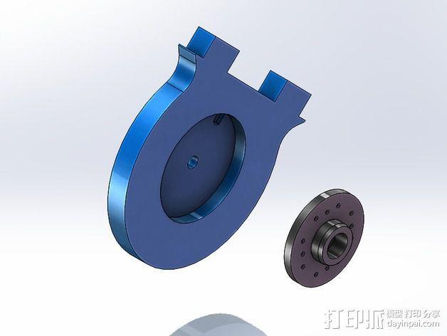 DIY Rc EZantenna 跟踪器 3D模型  图21