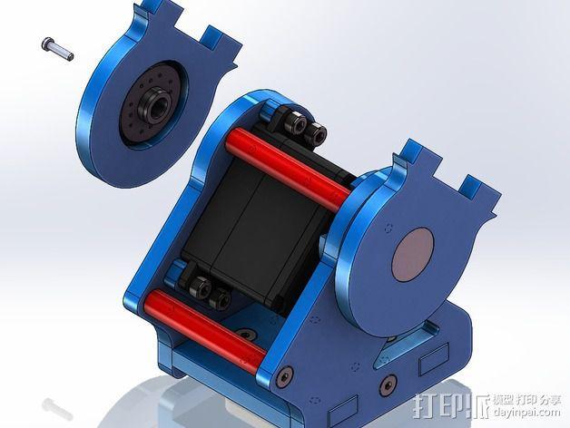 DIY Rc EZantenna 跟踪器 3D模型  图22