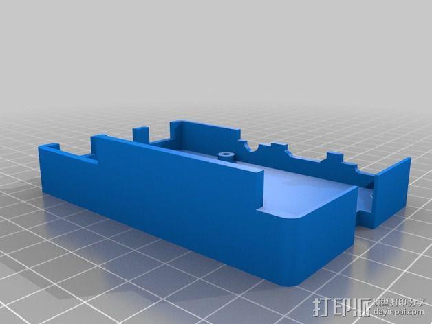 树莓派 B+外壳 3D模型  图3