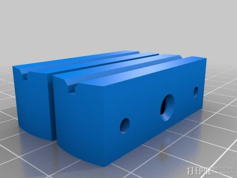 PCB 固定槽 Workbench 3D模型  图2
