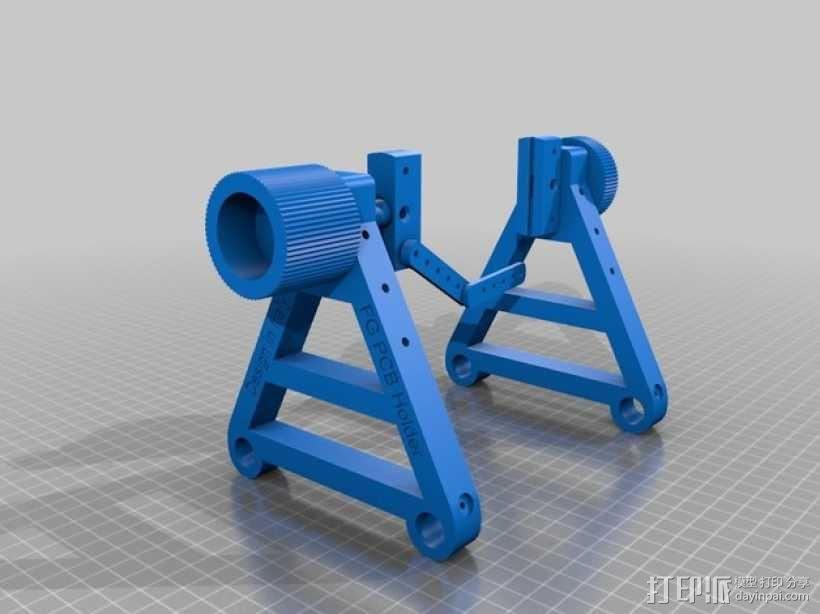 PCB 固定槽 Workbench 3D模型  图5