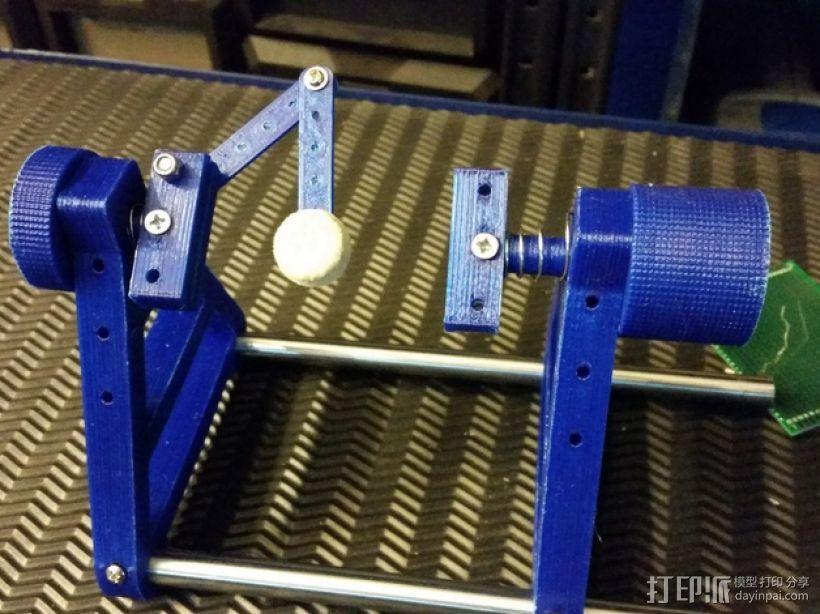 PCB 固定槽 Workbench 3D模型  图9