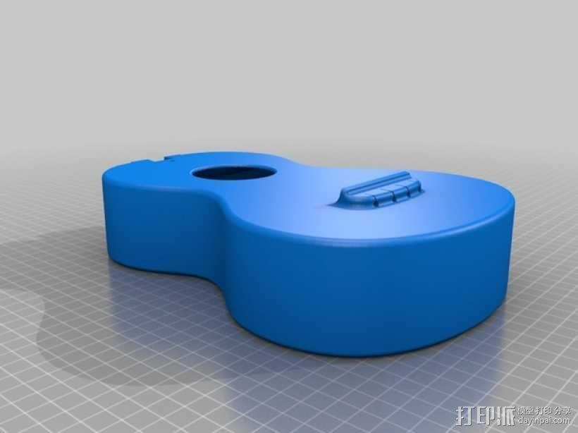 小清新必备——高音尤克里里 3D模型  图7