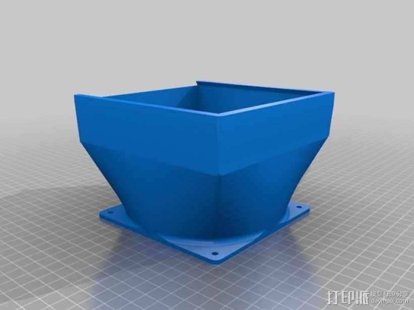 可焊接油烟机 3D模型  图4