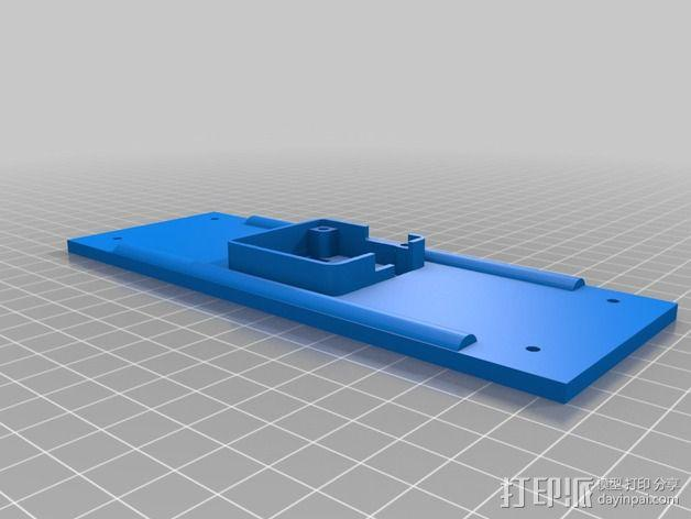 195mm简易迷你飞行器 3D模型  图3