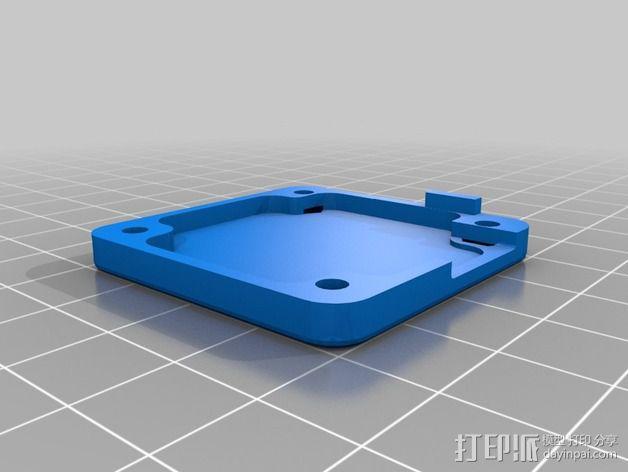 195mm简易迷你飞行器 3D模型  图2