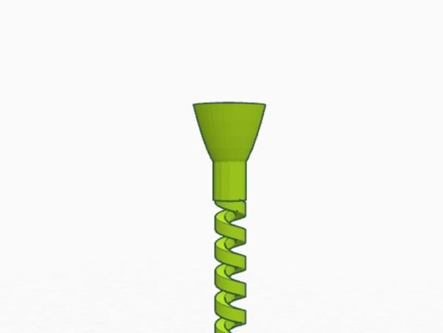 弹性高尔夫球支架 3D模型  图3