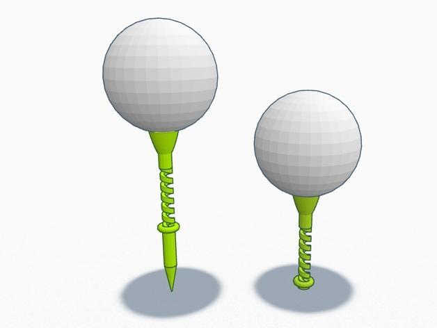 弹性高尔夫球支架 3D模型  图7