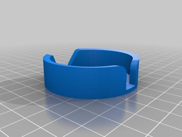 DJI Naza固定槽 3D模型  图2