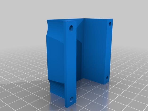 DJI Naza固定槽 3D模型  图3
