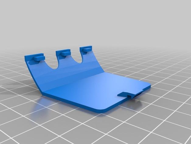 Oculus Rift DK2 固定适配器 3D模型  图3