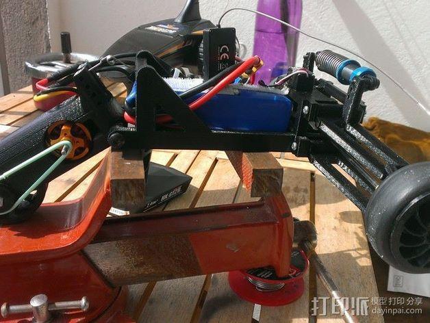 RC 三轮小车 3D模型  图4