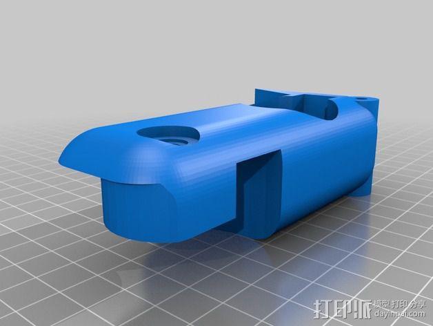 RC 三轮小车 3D模型  图7