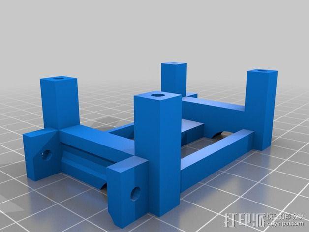 RC 三轮小车 3D模型  图9