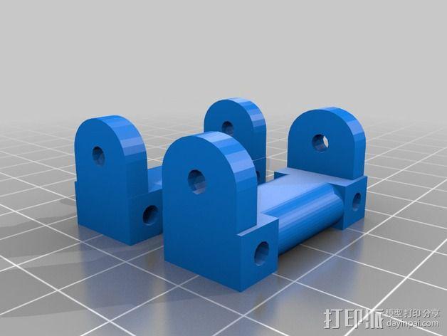 RC 三轮小车 3D模型  图8