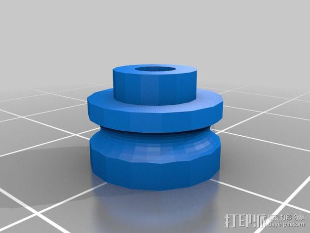 RC 三轮小车 3D模型  图12