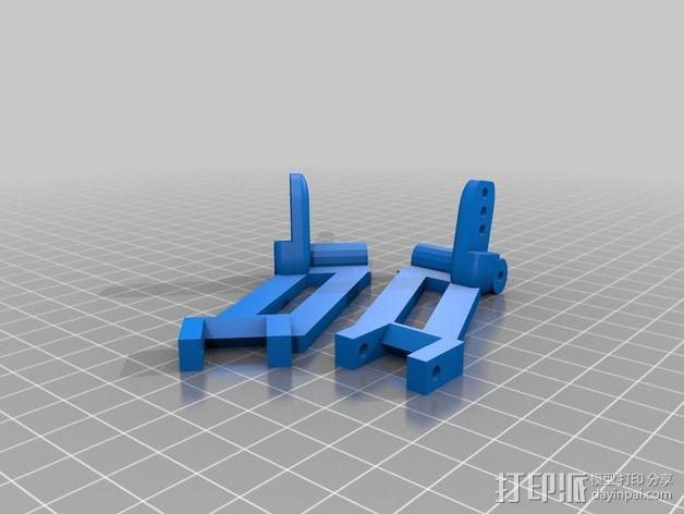 RC 三轮小车 3D模型  图10