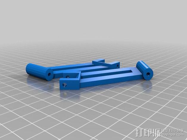 RC 三轮小车 3D模型  图11