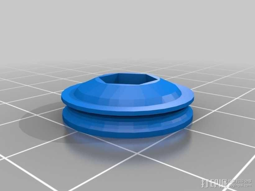RC 三轮小车 3D模型  图13