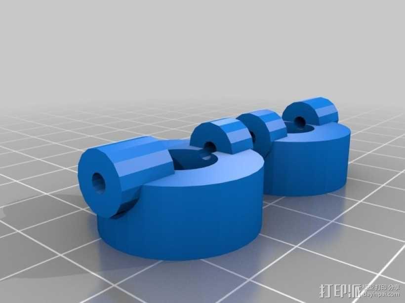 RC 三轮小车 3D模型  图14