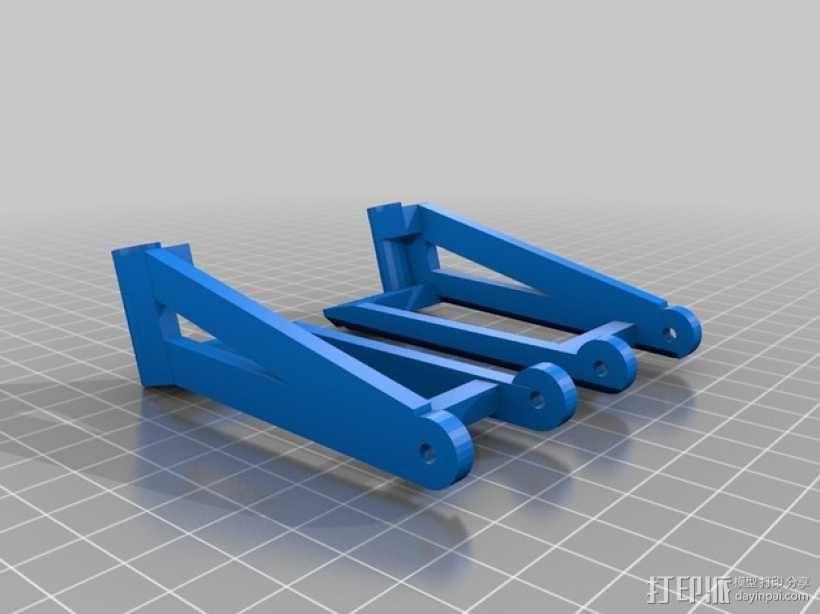 RC 三轮小车 3D模型  图15
