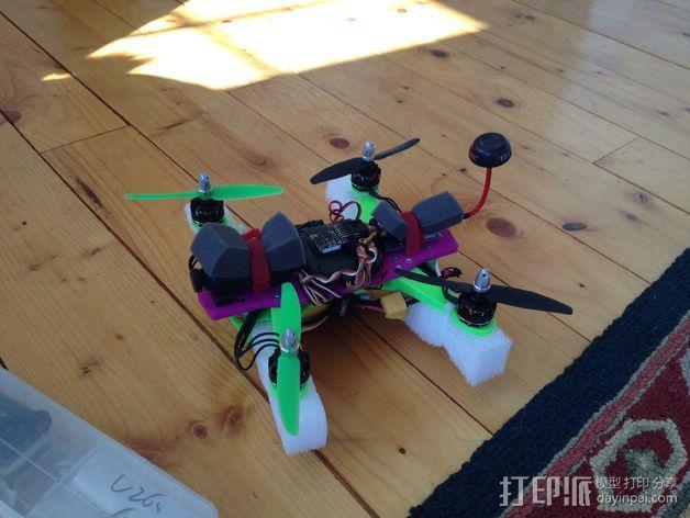 迷你 LiMbO H 四轴飞行器 3D模型  图2