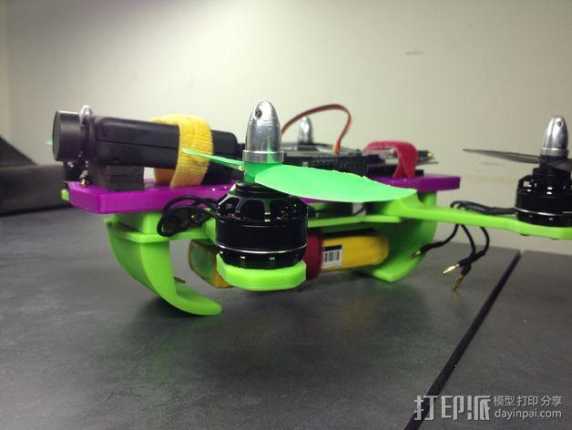 迷你 LiMbO H 四轴飞行器 3D模型  图5