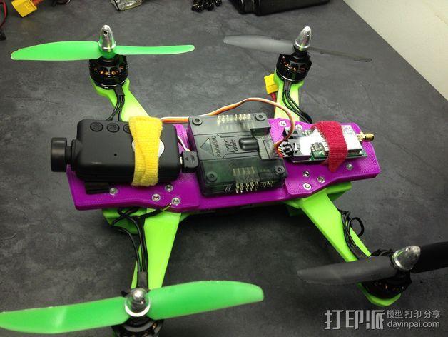 迷你 LiMbO H 四轴飞行器 3D模型  图6