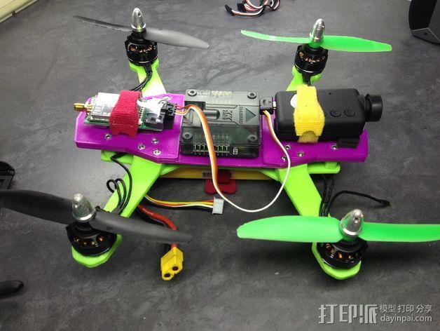 迷你 LiMbO H 四轴飞行器 3D模型  图7
