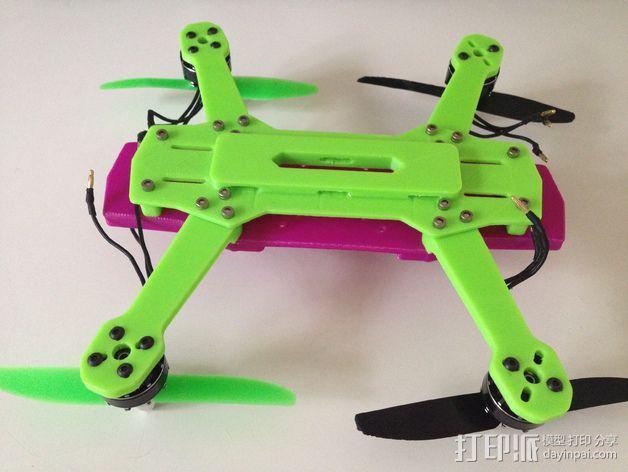 迷你 LiMbO H 四轴飞行器 3D模型  图9