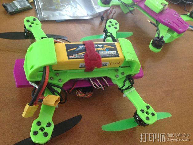 迷你 LiMbO H 四轴飞行器 3D模型  图10