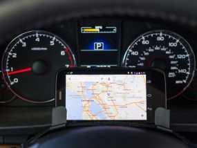 驾驶杆手机固定夹 3D模型