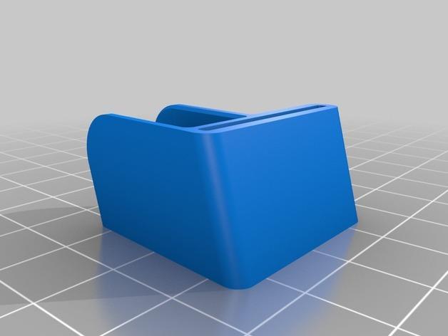 驾驶杆手机固定夹 3D模型  图4