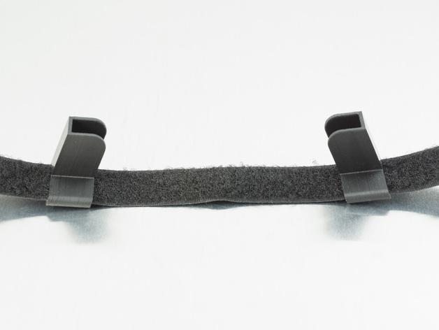 驾驶杆手机固定夹 3D模型  图3