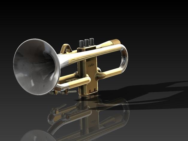 全尺寸喇叭 3D模型  图6