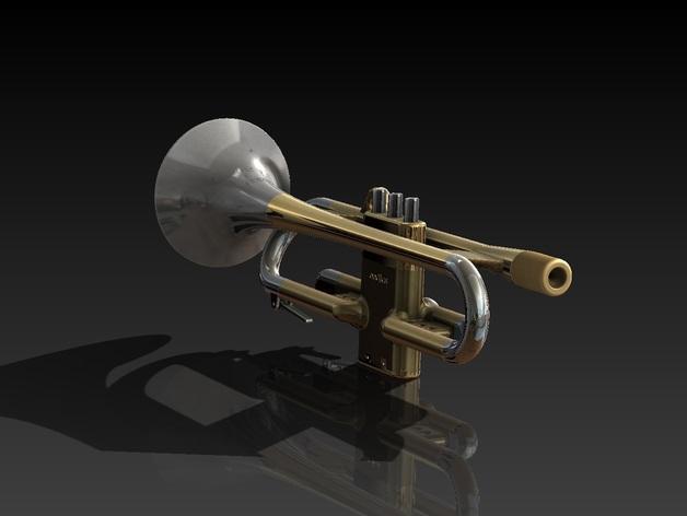 全尺寸喇叭 3D模型  图4
