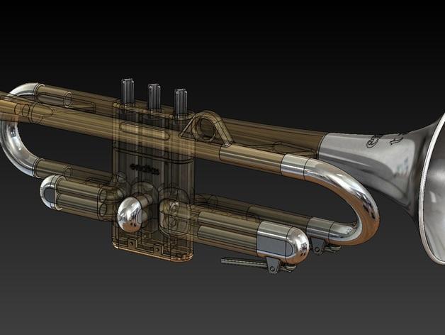 全尺寸喇叭 3D模型  图10