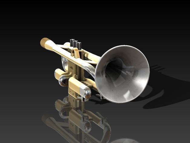 全尺寸喇叭 3D模型  图8