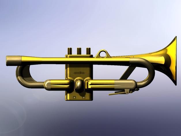 全尺寸喇叭 3D模型  图14